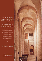 Design and Construction in Romanesque Architecture