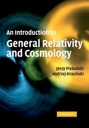 An Introduction to General Relativity and Cosmology