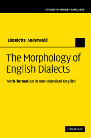 The Morphology of English Dialects