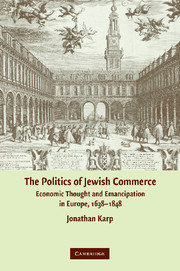 The Politics of Jewish Commerce