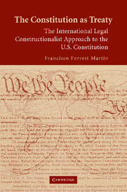 The Constitution as Treaty