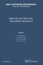 Materials and Physics for Nonvolatile Memories II