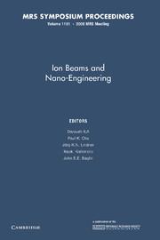 Ion Beams and Nano-Engineering