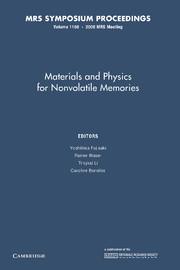 Materials and Physics for Nonvolatile Memories