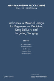 Advances in Material Design for Regenerative Medicine, Drug Delivery and Targeting/Imaging