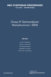 Group IV Semiconductor Nanostructures — 2006