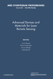 Advanced Devices and Materials for Laser Remote Sensing