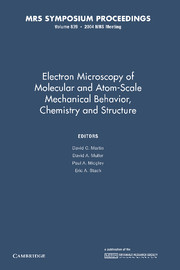 Electron Microscopy of Molecular and Atom-Scale Mechanical Behavior, Chemistry and Structure