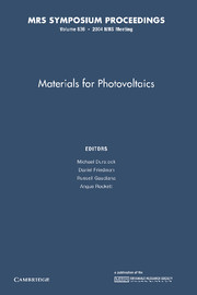 Materials for Photovoltaics