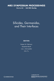 Silicides, Germanides, and their Interfaces