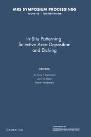 In-Situ Patterning: