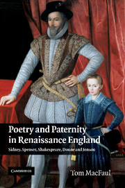 Poetry and Paternity in Renaissance England