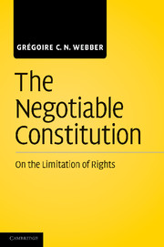 The Negotiable Constitution