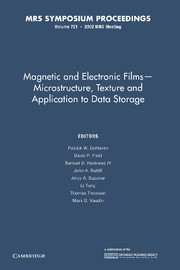 Magnetic and Electronic Films – Microstructure, Texture and Application to Data Storage