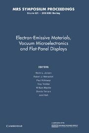 Electron-Emissive Materials, Vacuum Microelectronics and Flat-Panel Displays