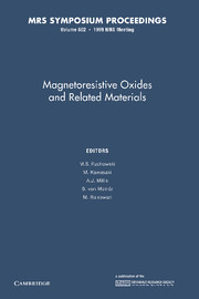 Magnetoresistive Oxides and Related Materials