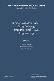 Biomedical Materials — Drug Delivery, Implants, and Tissue Engineering
