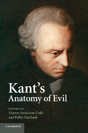 Kant's Anatomy of Evil