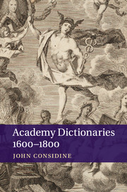Academy Dictionaries 1600–1800