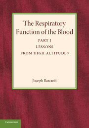 The Respiratory Function of the Blood