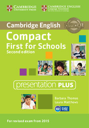 Compact first for schools - Workbook CD