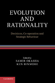 Evolution and Rationality