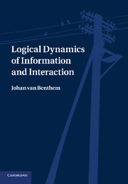 Logical Dynamics of Information and Interaction