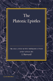 The Platonic Epistles