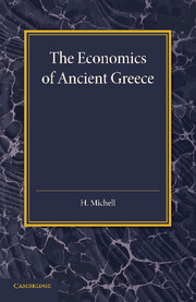 The Economics of Ancient Greece