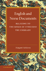 English and Norse Documents