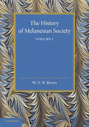 The History of Melanesian Society