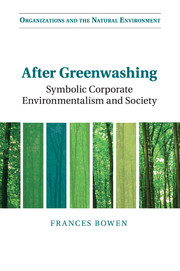 Organizations and the Natural Environment