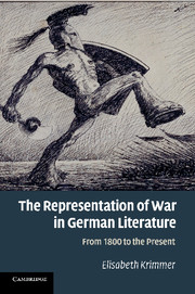 The Representation of War in German Literature