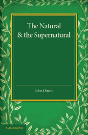The Natural and the Supernatural