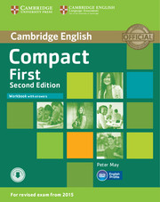 Compact First Workbook with Answers with Audio