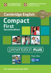 Compact First Presentation Plus DVD-ROM