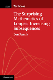The Surprising Mathematics of Longest Increasing Subsequences