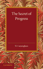 The Secret of Progress
