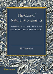 The Care of Natural Monuments