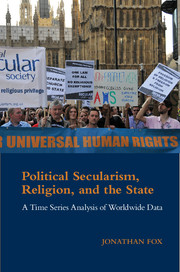 Political Secularism, Religion, and the State