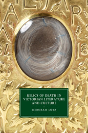 Relics of Death in Victorian Literature and Culture