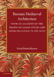 Russian Mediaeval Architecture