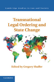 Transnational Legal Ordering and State Change