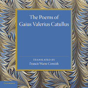 The Poems of Gaius Valerius Catullus