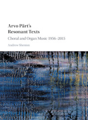 Arvo Pärt's Resonant Texts