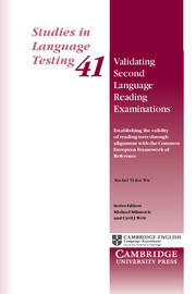 Validating Second Language Reading Examinations