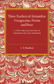 Three Teachers of Alexandria