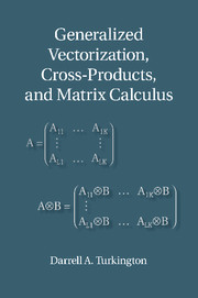 Generalized Vectorization, Cross-Products, and Matrix Calculus