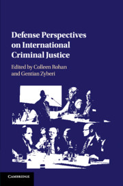 Defense Perspectives on International Criminal Justice