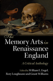 The Memory Arts in Renaissance England
